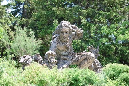 Statue of Carl Linnaeus