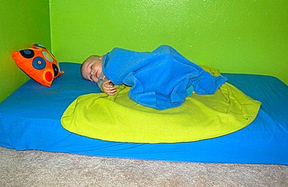 Montessori Floor Bed With Twins