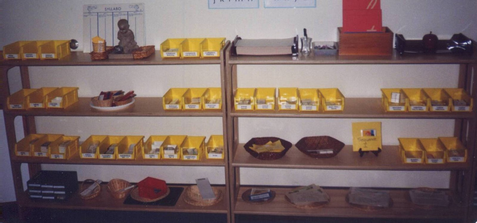 The Underlying Organization Of A Montessori Classroom For