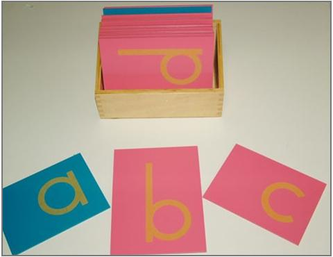 Montessori Basics 9: Sandpaper Letters - Montessori for Everyone ...